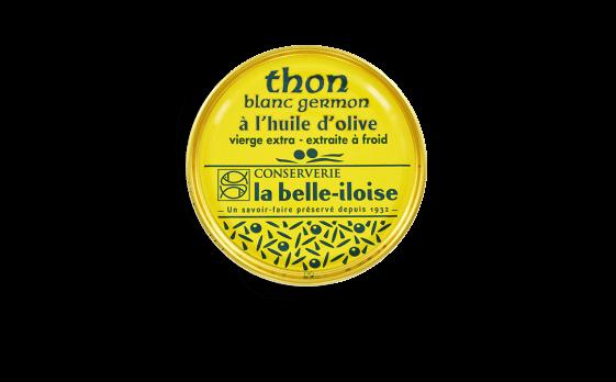 Thon blanc germon à l'huile d'olive - Conserverie la belle-iloise