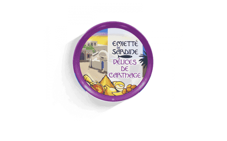 Émietté de sardine délices de Carthage - Conserverie la belle-iloise