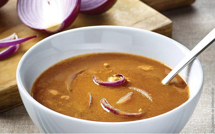 Nos soupes repas Godaille du pêcheur aux pommes de terre et petits légumes - 4 boîtes de 380g - La Belle Iloise