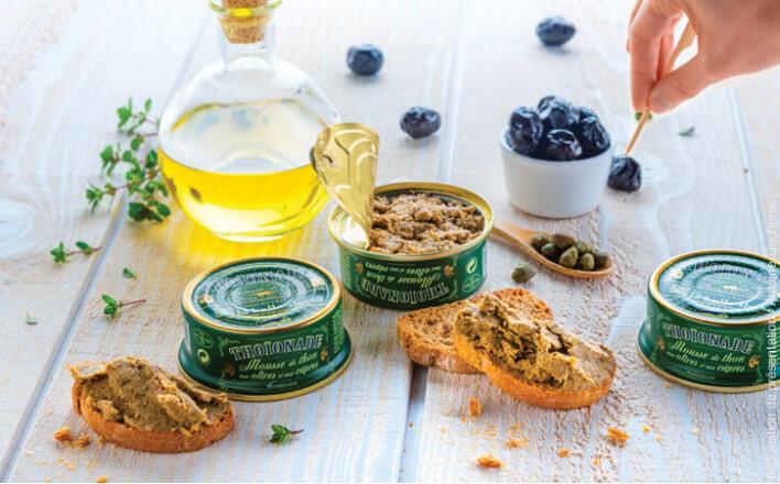Thoïonade aux olives - 3 boîtes de 60g - La Belle Iloise