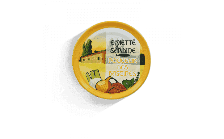 Émietté de sardine Douceur des bastides - Conserverie la belle-iloise