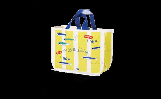 Le sac à sardines jaune