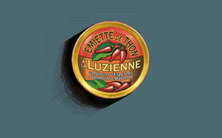 Émietté de thon à la Luzienne - Conserverie la belle-iloise