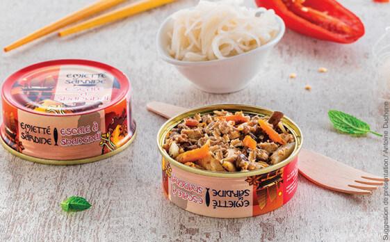 emiette de sardine shanghai