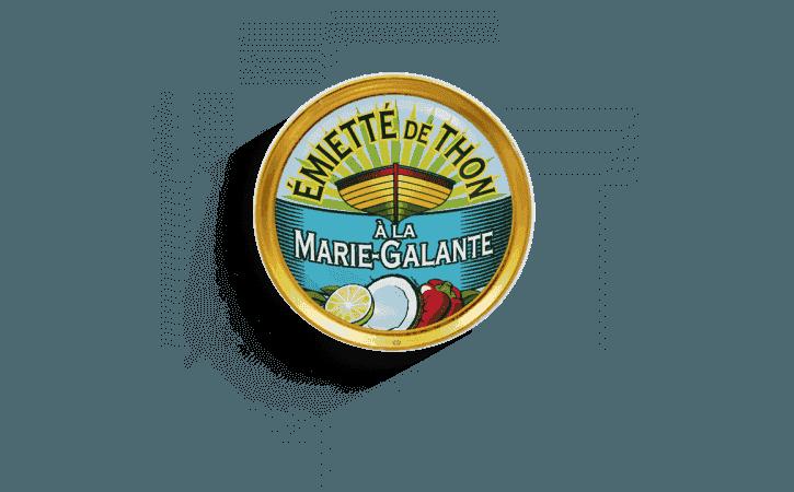 Émietté de thon à la Marie-Galante - Conserverie la belle-iloise