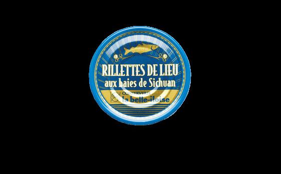 Rillettes de lieu aux baies de Sichuan - 3 boîtes de 130g
