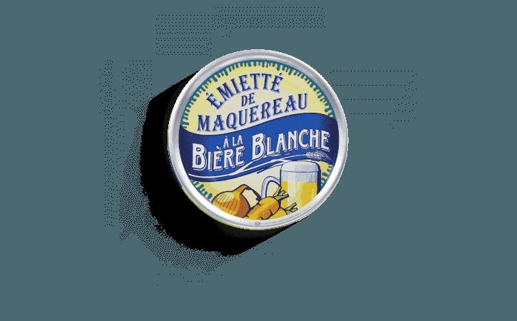 Émietté de maquereau à la bière blanche - Conserverie la belle-iloise