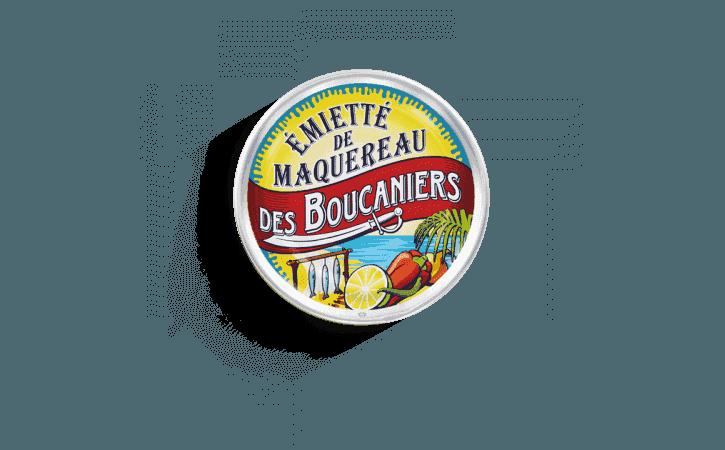 Émietté de maquereau des Boucaniers - Conserverie la belle-iloise