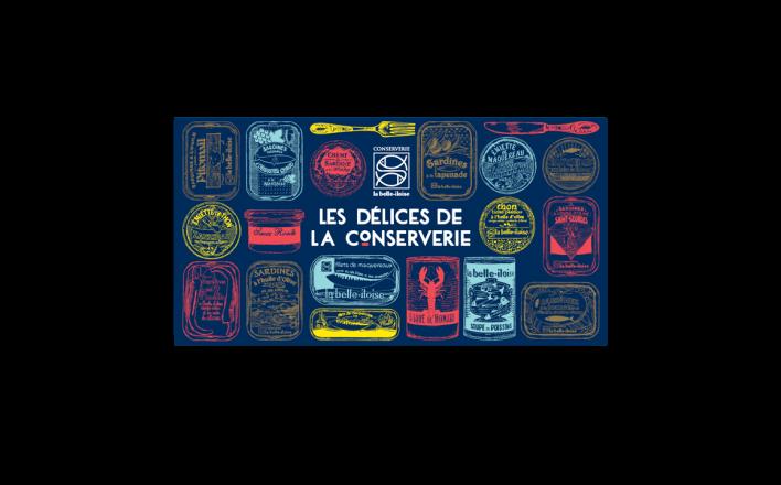 Grand coffret ''Les Délices de la Conserverie'' - La Belle Iloise