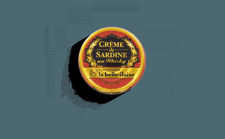 Crème de sardine au Whisky