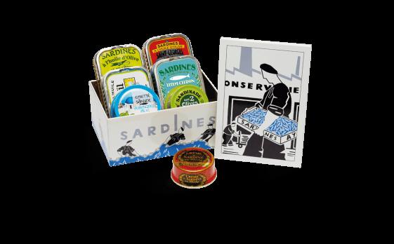 """Coffret """"Histoire de sardines"""""""