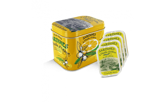 Sardines with Olive oil and Lemon Box