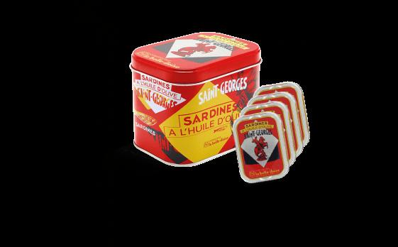 Saint-Georges Sardines Box