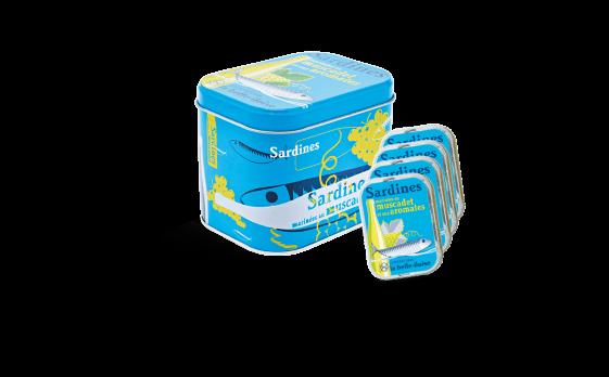 Sardines marinated in Muscadet Box