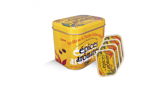 Sardines with Spices and Aromatic flavourings Box