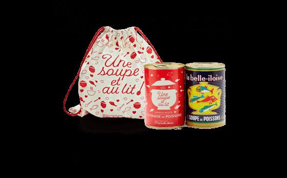 L'offre St-Valentin ''Une soupe et au lit''
