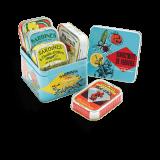Assortment of sardines box...