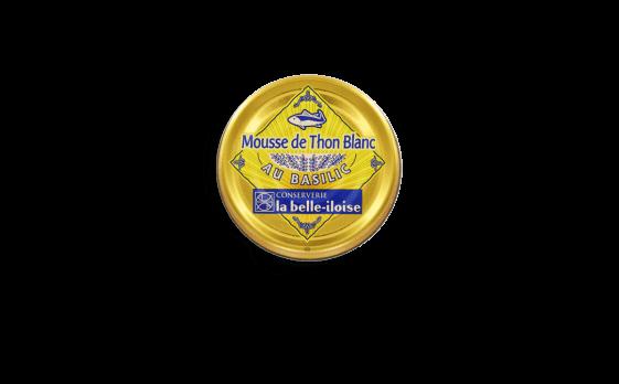 Mousse de thon blanc au basilic - Conserverie la belle-iloise