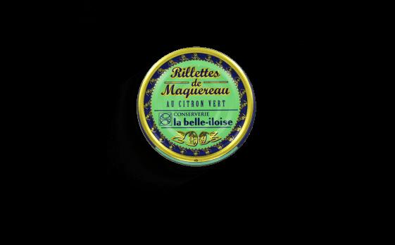 Rillettes de maquereau au citron vert - Conserverie la belle-iloise