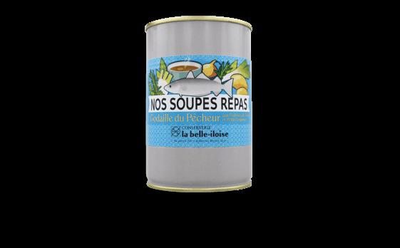 Nos soupes repas Godaille du pêcheur aux pommes de terre et petits légumes - Conserverie la belle-iloise