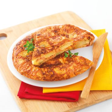 Tortilla à la Luzienne