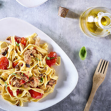 Pasta with Flavours of the Garrigue
