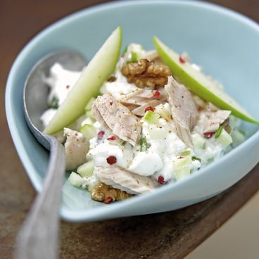 Tuna and green apple salad