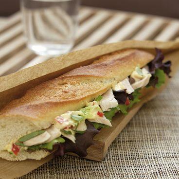 Sandwich rapide au thon blanc